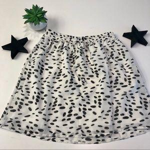 ASOS Animal Print Mini Skirt